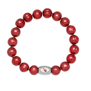 "Arizona Cardinals Freshwater Cultured Pearl 7.5"" Bracelet"