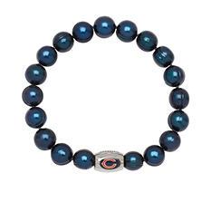"Chicago Bears Freshwater Cultured Pearl 7.5"" Bracelet"
