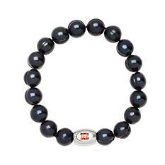 "Cincinnati Bengals Freshwater Cultured Pearl 7.5"" Bracelet"