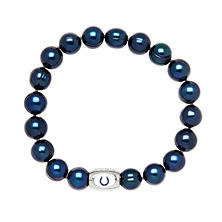 "Indianapolis Colts Freshwater Cultured Pearl 7.5"" Bracelet"