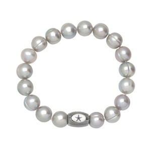 "Dallas Cowboys Freshwater Cultured Pearl 7.5"" Bracelet"