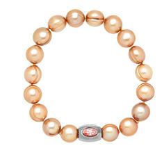 "San Francisco 49ers Freshwater Cultured Pearl 7.5"" Bracelet"