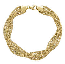 Click here for Gold Twist Bracelet prices