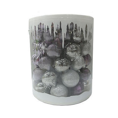 Shatterproof Ornaments - Icy Dream - 100 ct.