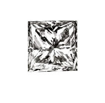 1.01 ct. Princess-Cut Loose Diamond (F, VVS2)