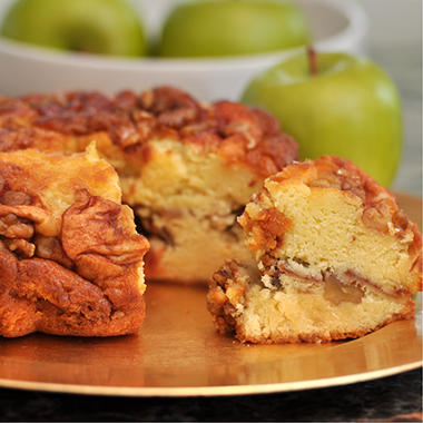 "Miss Ellie's Gourmet Coffee Cake - Granny Smith Apple - 8"" - 8 ct."
