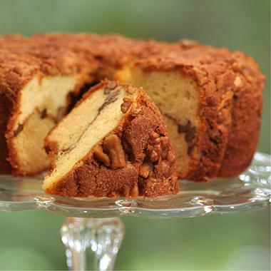 Miss Ellie's Gourmet Coffee Cake - Cinnamon Walnut - 8