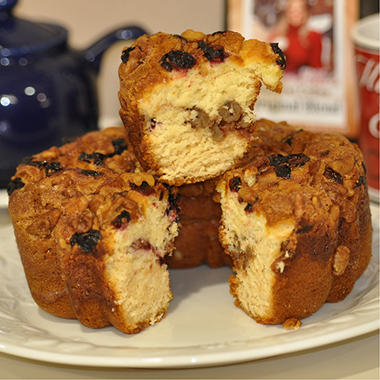 Miss Ellie's Gourmet Coffee Cake - Cape Cod Cranberry - 8