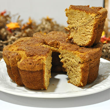 "Miss Ellie's Gourmet Coffee Cake - Pumpkin Spice - 8"" - 8 ct."