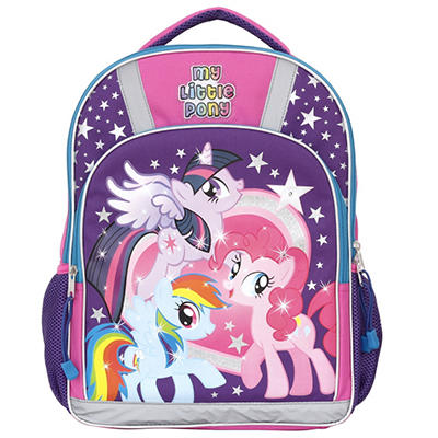 My Little Pony Safety Backpack with Flashing LED Lights