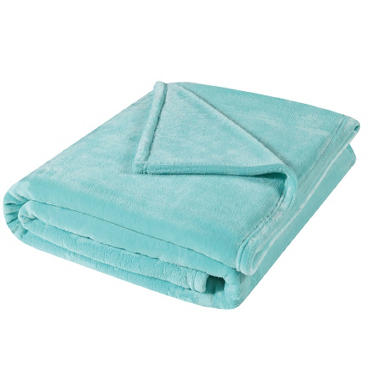 Spring Plush Throw - Various Colors