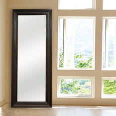 Wood Leaner Mirror