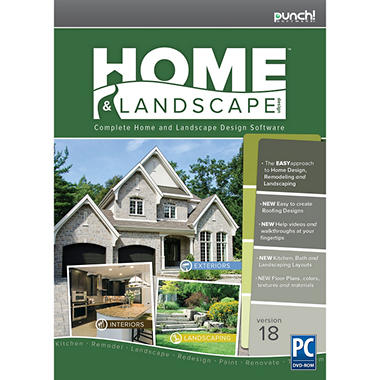 punch home landscape design v18 sam 39 s club