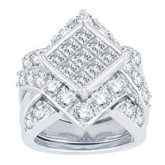 4.95 ct. t.w. Diamond Ring in 14K White Gold (I, I1)