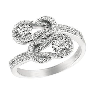 .50 ct. t.w. Everlon™ Diamond Pave Ring (I, I1)