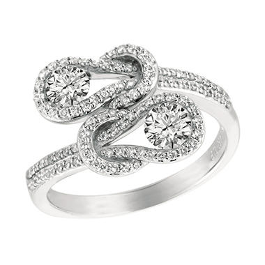 .50 ct. t.w. Everlon? Diamond Pave Ring (I, I1)