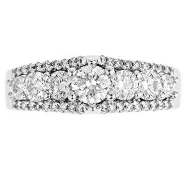 1.50 ct. t.w. Regal Diamond Bridal Ring (I, SI2)