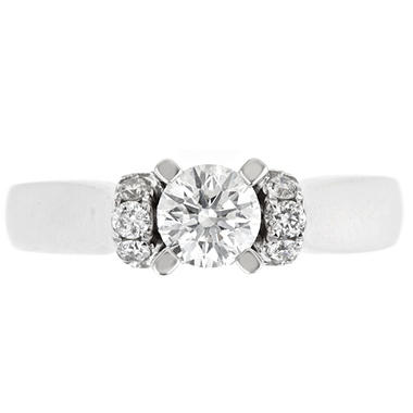 1.0 ct. t.w. Regal Diamond Soiltaire Plus Ring (I, SI2)