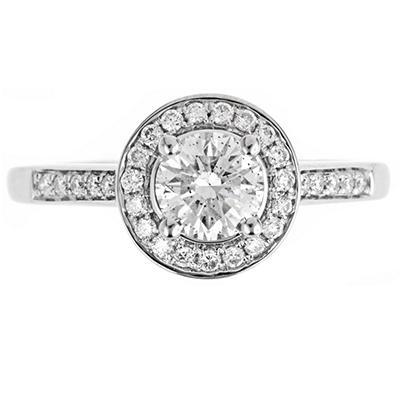 1.0 ct. t.w. Regal Diamond Framed Ring (I, SI2)