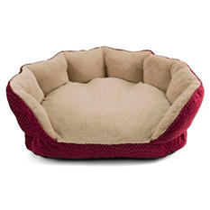 "Simply Right Scalloped Pet Bed, 26"" (Choose Your Color)"