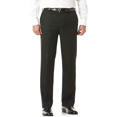 Men's Flat Front Dress Pant, Various Sizes and Colors