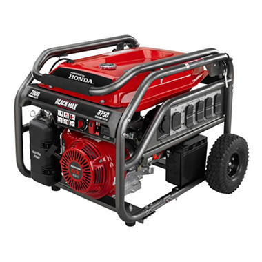 $100.00 off Black Max 7,000 Watt Portable Gas Generator with Electric Start