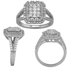 1.00 CT T.W. Diamond 14 Karat White Gold Ring (I, I1, IGI Appraisal Value:  $1,305.00)