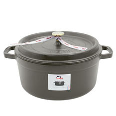 Staub Cast-Iron 5.5-Quart Round Cocotte (Assorted Colors)
