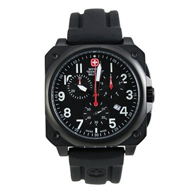 Wenger Swiss Military AeroGraph Cockpit Chronograph Men's Watch