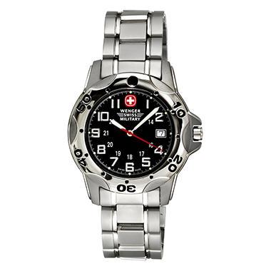 Wenger Swiss Military Mountaineer Titanium Men's Watch