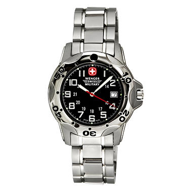 Wenger Swiss Military Mountaineer Titanium Men's Watch