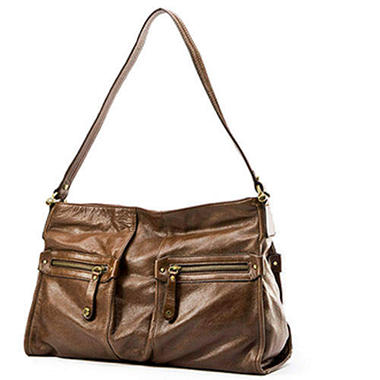 Allison Scott Leather Olivia Hobo Bag - Various Colors