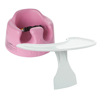 Bumbo Floor Seat and Tray - Rose Pink