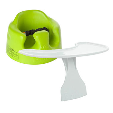 Bumbo Floor Seat and Tray - Lime