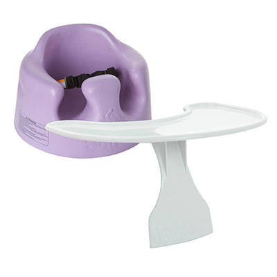 Bumbo Floor Seat and Tray - Lilac
