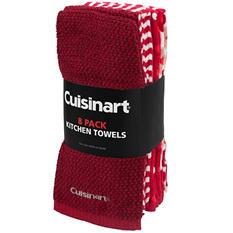 CUISINART 8 Pack Kitchen Towel - Various Colors