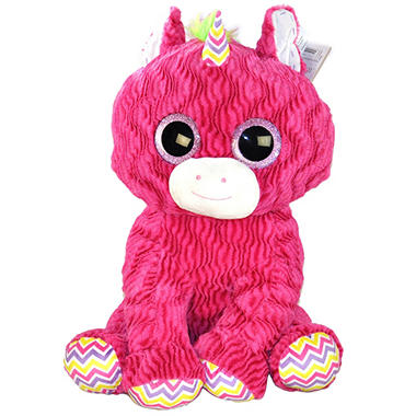 EYE-NORMOUS PLUSH UNICORN