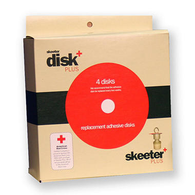 Skeeter Plus Adhesive Strips