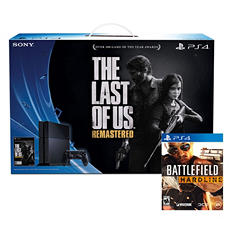 PlayStation 4 : The Last of Us - Remastered Bundle with Bonus Battlefield Hardline