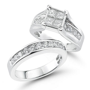 2.00 ct. t.w. Diamond Engagement Set in 14K Gold (I, I1)