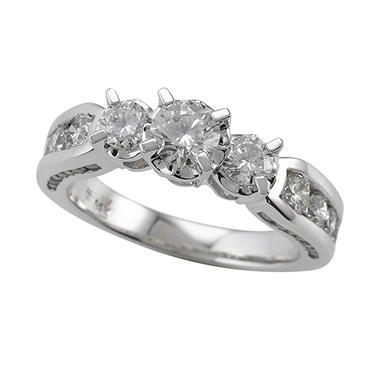 1.45 ct. t.w Round Diamond Ring (I, I1)