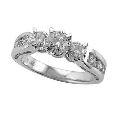 1.45 ct. t.w Round Diamond Ring (I, I1)