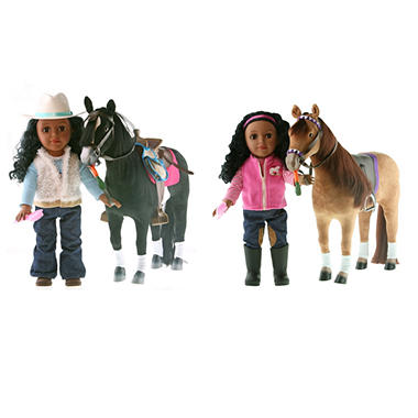 Paradise Horses Doll & Horse Playset