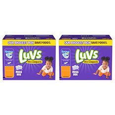 Luvs Ultra Leakguards Pick Diaper Bundle (Choose Your Sizes)