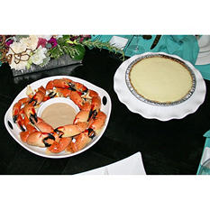 Florida Stone Crabs & Key Lime Pie, Large (10 lb.)