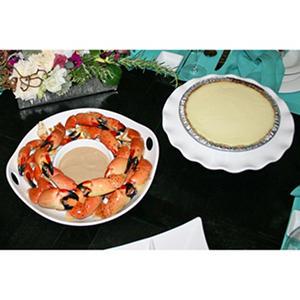 Florida Stone Crabs & Key Lime Pie, Large (10 lb.)