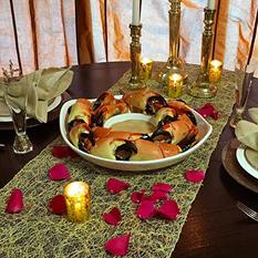Romantic Stone Crab Dinner, Jumbo (5 lb.)