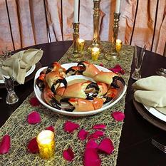 Romantic Stone Crab Dinner, Colossal (5 lb.)