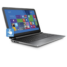 "HP Full HD Touchscreen 15.6"" Notebook with Intel i5-5200U Processor, 8GB Memory, 1TB Hard Drive, and Optical Drive *FREE UPGRADE TO WINDOWS 10"