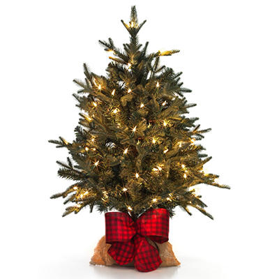 Holiday Classic Evergreen Tree, Timeless Traditions (3')